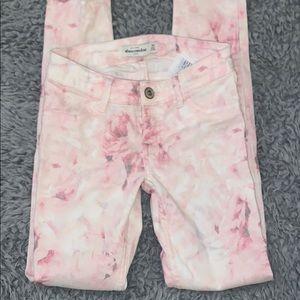 Abercrombie kids skinny jeans girls 10